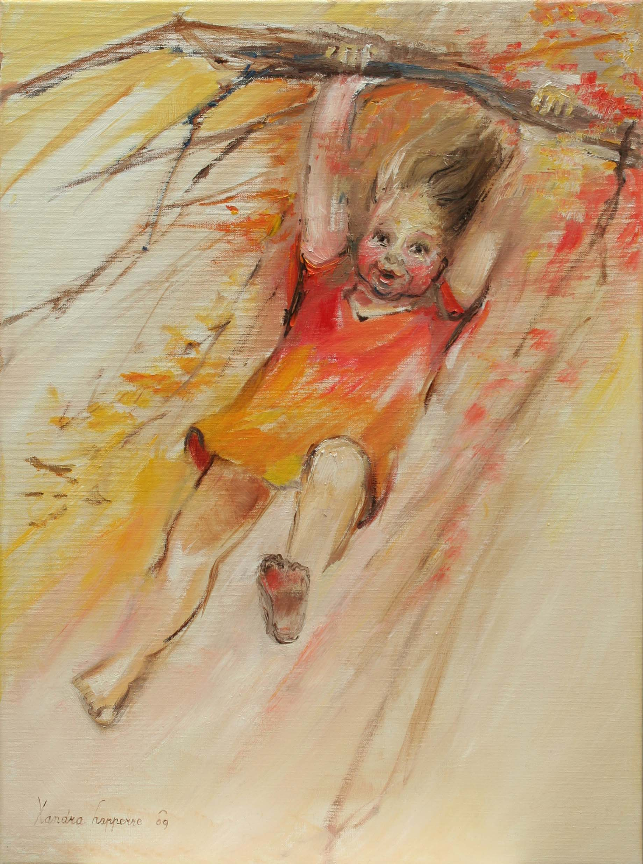 Spelende kinderen xandra lapperre - Kinder schilderij ...